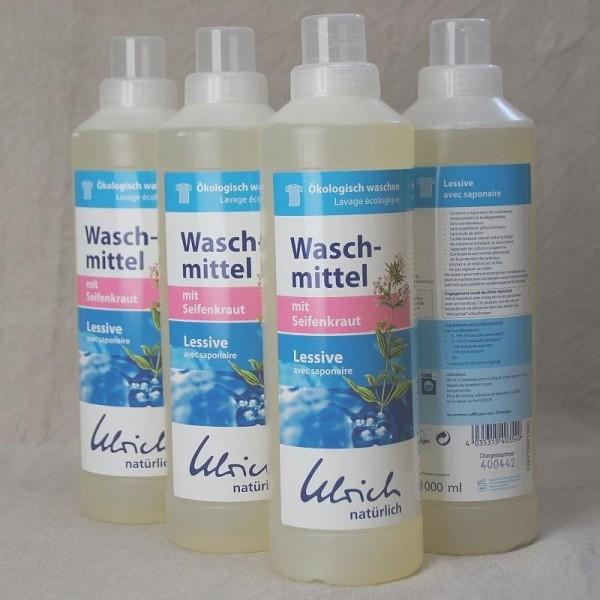 Bio Waschmittel für alle Textilien - mit Seifenkrautextrakt