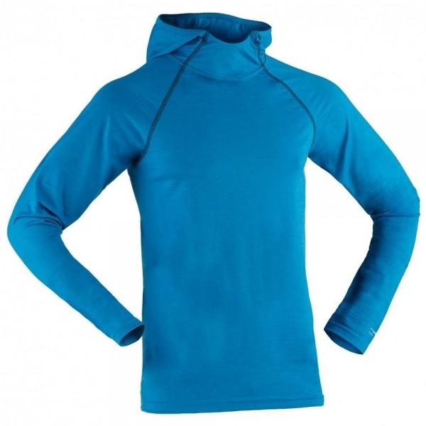 Bio Hoodie, Kapuzenshirt aus Merinowolle und Seide - Bio Sport-Shirt