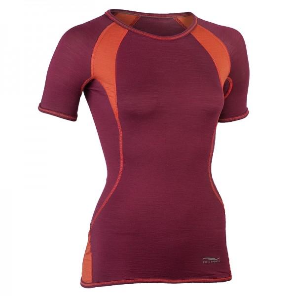 Bio SHIRT slim fit - natürliche Sportbekleidung für Damen