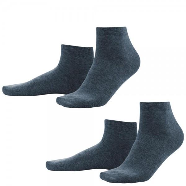 2-er Pack Bio Sneaker-Socken für Herren - GOTS zertifiziert