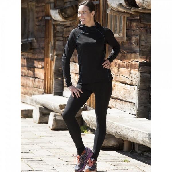 DAMEN Sport Tights - Bio Sporthosen aus Merino und Seide