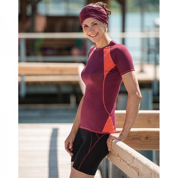 DAMEN LAUF SHORTS - Bio Funktionswäsche Shorts für Frauen