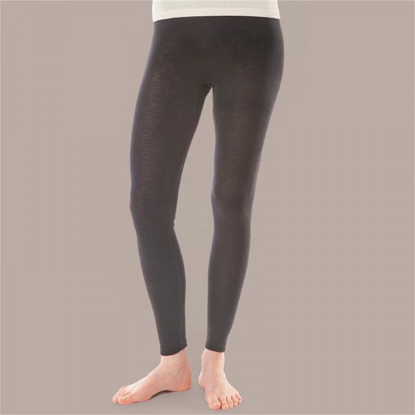 BIO LEGGING - Leggings für Damen aus Merinowolle und Seide
