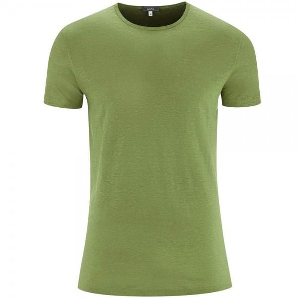 bio Leinen Shirt - limette
