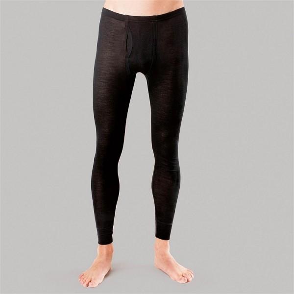 BIO LEGGING - Herren Unterhose lang aus Merino Wolle und Seide