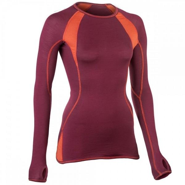 LANGARM SHIRT slim fit - natürliche Sportkleidung für Damen