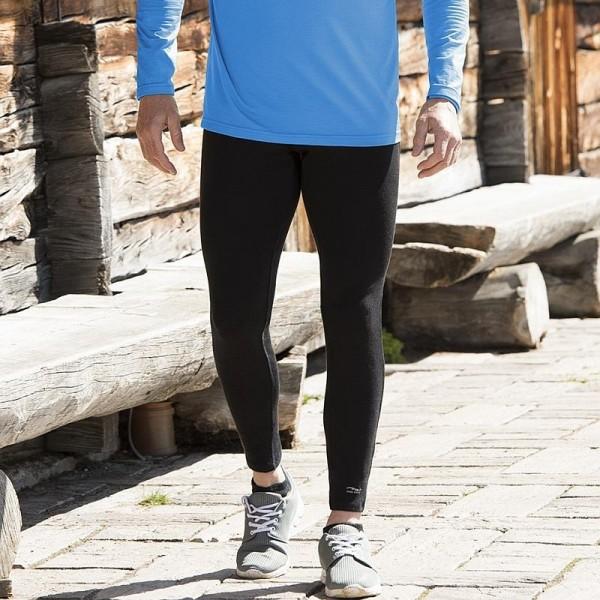 HERREN Sport Tights - Bio Sporthosen aus Merino und Seide