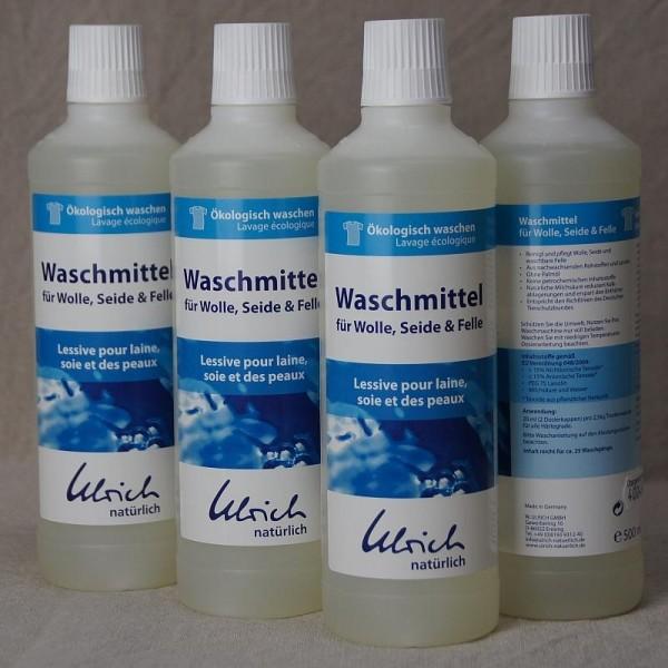 Bio Waschmittel für Wolle und Seide mit Lanolin