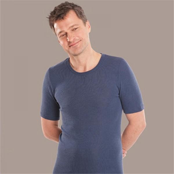 Herren T-SHIRT regular fit - natürliche Funktionswäsche für Männer