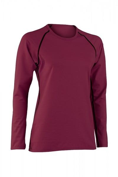 LANGARM SHIRT regular fit - natürliche Sportkleidung für Damen