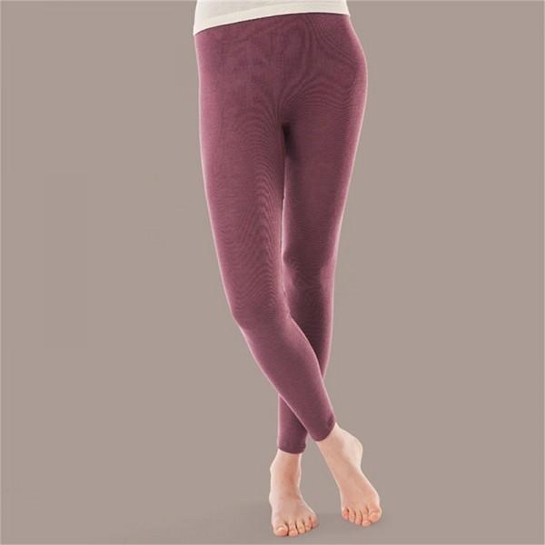 BIO LEGGING - Damen Leggings aus Merinowolle und Seide